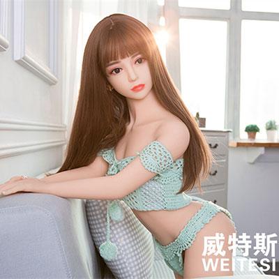 实体娃娃-威特斯-小妍 硅胶1:1高仿真智能实体娃娃140cm